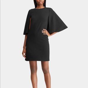 NWT Ralph Lauren Women's Crepe Overlay Dress RL09